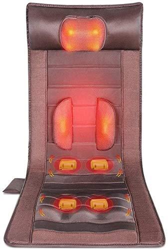 Form Memory Foam Massage Sitzkissen - Wärmemassage Matte, 6 Heiztherapiekissen, 10...