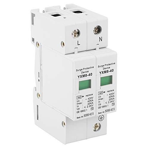 Pararrayos, Dispositivo de Protección contra Truenos y Sobretensiones Instantáneas, para AC 420V 40KA