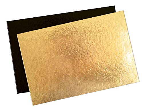Scrapcooking 5197 - Soporte para tartas, 5 unidades, color dorado y negro