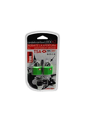 Travelux 8435353705012-2 candados llave tsa-lock