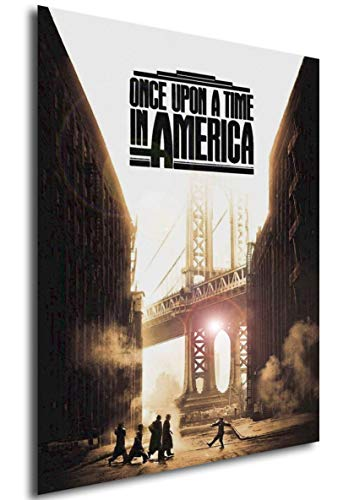 Instabuy Poster Once Upon a Time in America (Es war einmal in Amerika) - Theaterplakat (A3 42x30)