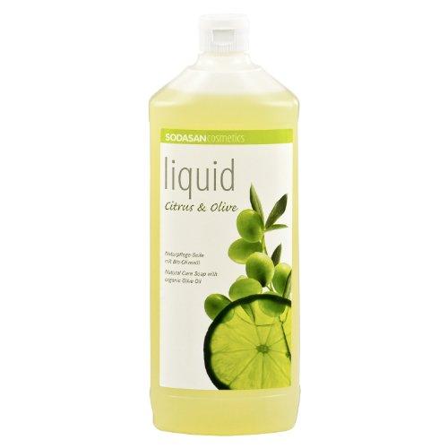 6 x 1 Liter SODASAN LIQUID Citrus-Olive