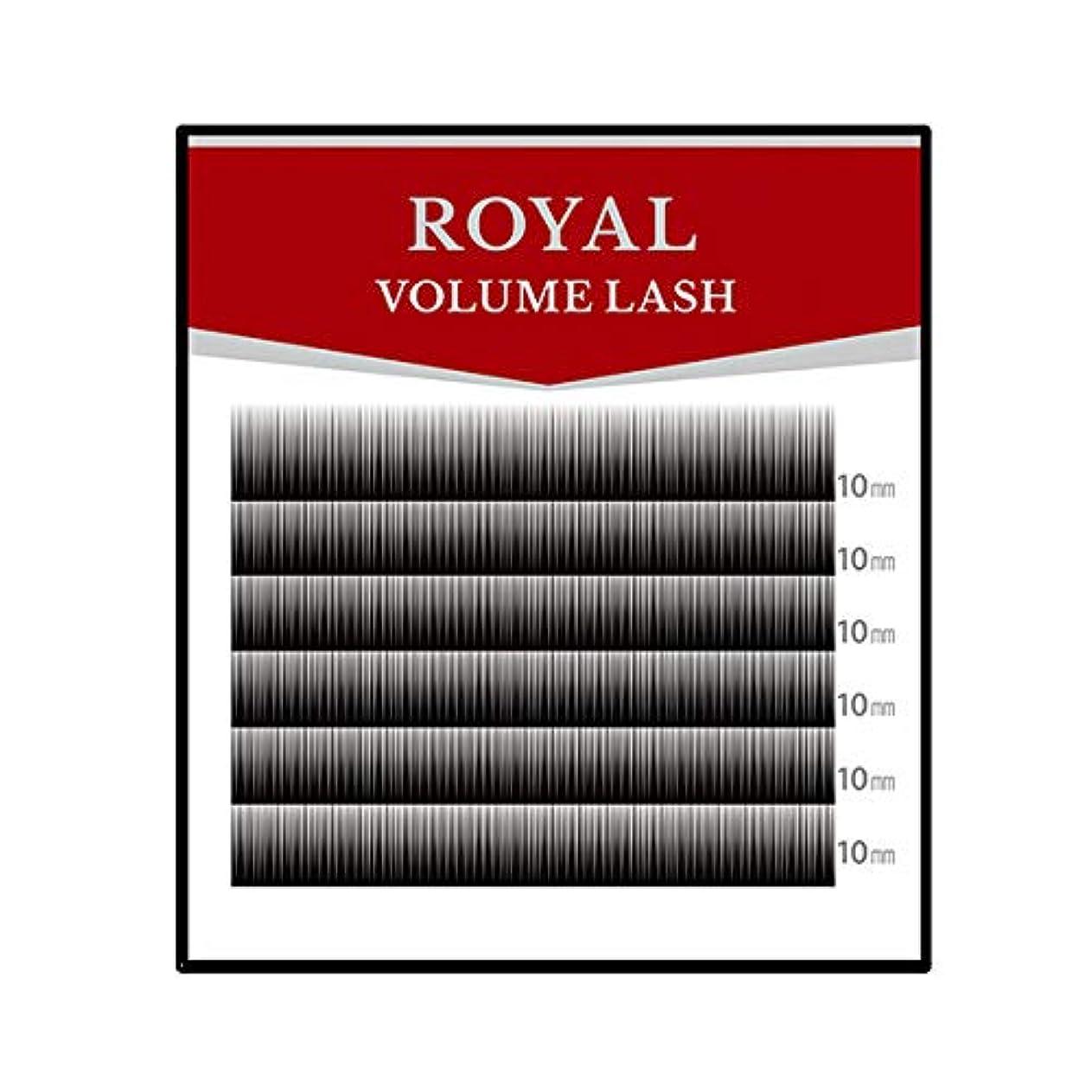 良心多年生貫通ロイヤル ボリュームラッシュ(6列) (0.05mm Dカール 13mm)