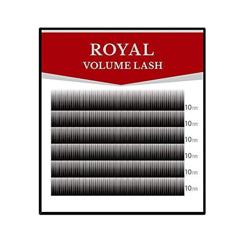 偉業哺乳類考えるロイヤル ボリュームラッシュ(6列) (0.05mm Cカール MIX(8?9?10?11mm))