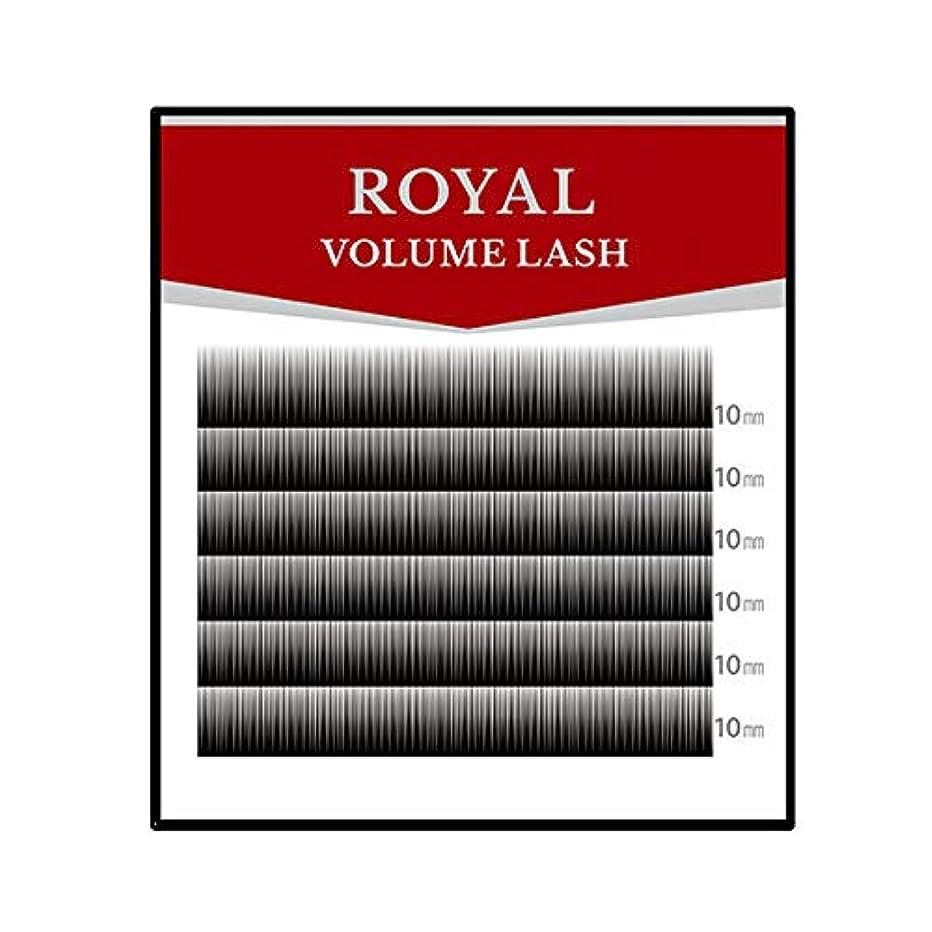 西病な大学生ロイヤル ボリュームラッシュ(6列) (0.05mm Cカール MIX(8?9?10?11mm))