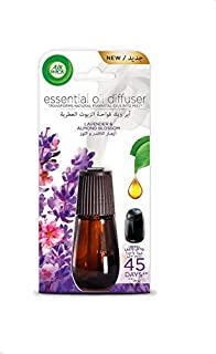Air Wick Air Freshener Essential Oil Diffuser Refill, Lavender and Almond Blossom