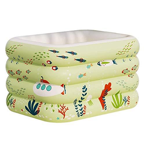 MKLI Familia Piscina Inflable para los niños, del niño Juego de Agua Centro de Juego para el bebé Kiddie para el Patio Trasero/Jardín/Patio de Agua Verano Juego Partido,140CM
