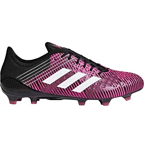 adidas Predator Malice Control (FG), Zapatillas de fútbol Americano para Hombre, Rosa (Shopin/ftwwht/cblack Shopin/ftwwht/cblack), 40 2/3 EU