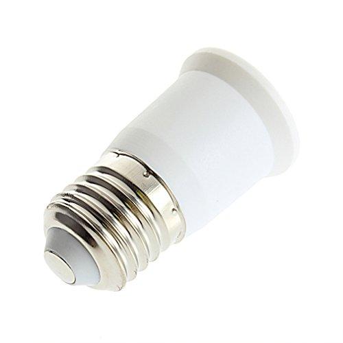 UL-Listed E26 to E26 Extender -E26 Edison Screw to E26 Edison Screw Lamp Bulb Socket Extension Adapter Converter