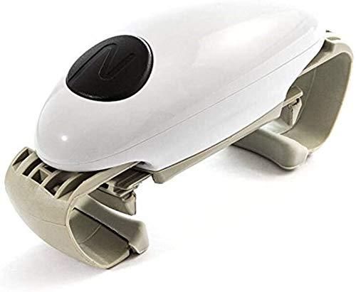 Automatico Can Opener, Apriscatole da Cucina Hands Free, Portable Light Weight, Bordi No Sharp, Alimentato a Batteria, Vaso Apribottiglie Multiuso Accessori da Cucina