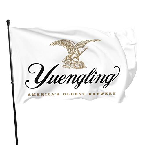 NOT BRAND ChenMingGao Home Decoration Yuengling Beer Logo Garden Flag Indoor Outdoor Flag 3x5 FT