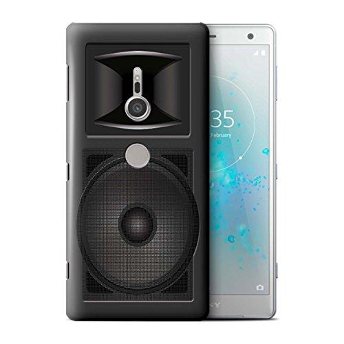 Stuff4® hoes/case voor Sony Xperia XZ2 / Studio Monitor patroon/luidspreker design collectie