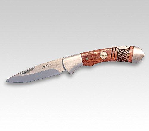 Linder Earl 2, Inoxidable, Madera, 440C M. Estructura, Mango de 10cm–Navaja