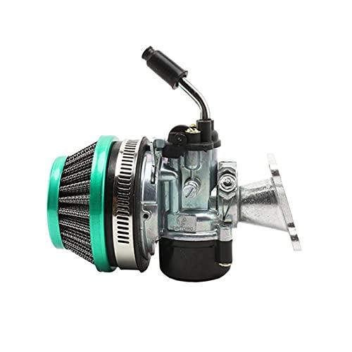 Carb Carburatore per Moto Gruppo Filtro Aria carburatore per 49cc 50cc 60 66 80cc Carb Fit Motorizzato Bike Bicicletta Mini Bike ATV Motore (Colore : B)