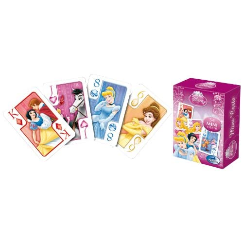 Modiano Disney - Mini Carte da Gioco Principesse