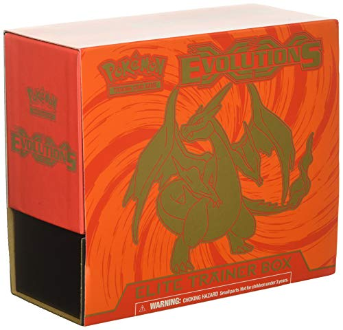 Pokèmon TCG Card Game XY Evoultions Boosters Elite Trainer Box Set