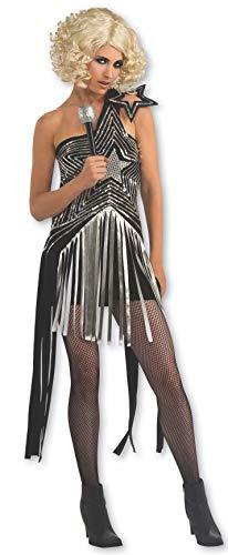 Rubbies - Disfraz de Lady Gaga Infantil, Talla XS (889977XS)
