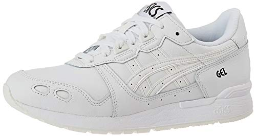 ASICS Herren Gel-Lyte Laufschuhe, Mehrfarbig White White 0101, 37 EU