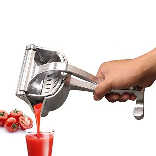 Exprimidores manuales, aleación de aluminio Exprimidor de limón Exprimidor de frutas Prensa de frutas portátil Exprimidor de limón y naranja Exprimidor manual de frutas Exprimidor de frutas Herramienta extractora