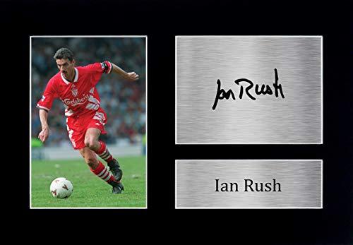 HWC Trading A4 Liverpool Ian Rush Rojos Regalo De Las Imágenes Impresas Autógrafos para Los Aficionados Y Seguidores - A4