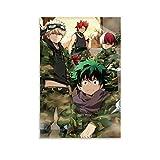 SSWQ Anime Poster MHA My Hero Academia Kirishima Bakugou