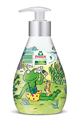 Frosch Reine Pflege Kinder Sensitiv-Seife, Flüssigseife in versch. Motiven, 300ml, 6er Pack (6 x 300 ml)