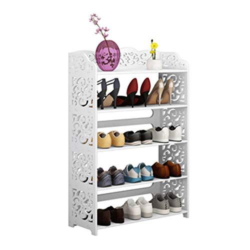 Zapateros Scarpiera In Legno Estante Para Zapatos De Estilo Europeo, Dormitorio Económico Moderno, Simple, Estantes De Almacenamiento De Múltiples Capas, Entrada Para El Hogar, Gabinete De Zapatos Atr