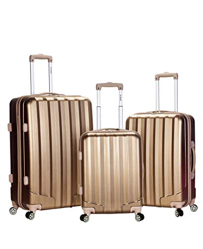 Best Review Of Rockland Santa Fe Hardside Spinner Wheel Luggage, Bronze
