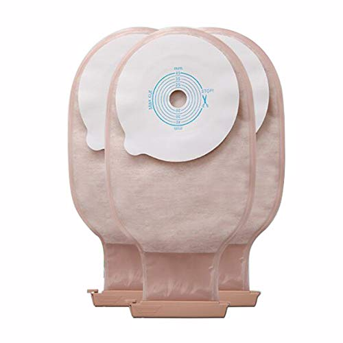 JL Drainable Pouch Ostomie Ileostomy Stoma Bags für Colostomy Ileostomy Stoma Pflege Drainagebeutel Stomabeutel,20pouch+5chassis