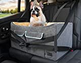 Petsfit Dog Car Seat, Pet Travel Car Booster Seat with Safety Belt, Washable Double-Sided Cushion...