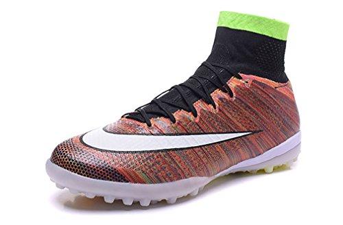 mercurialx Proximo tf-mens Rainbow High Top Fußball Schuhe Fußball Stiefel, Herren, regenbogenfarben, UK7.5/EUR41