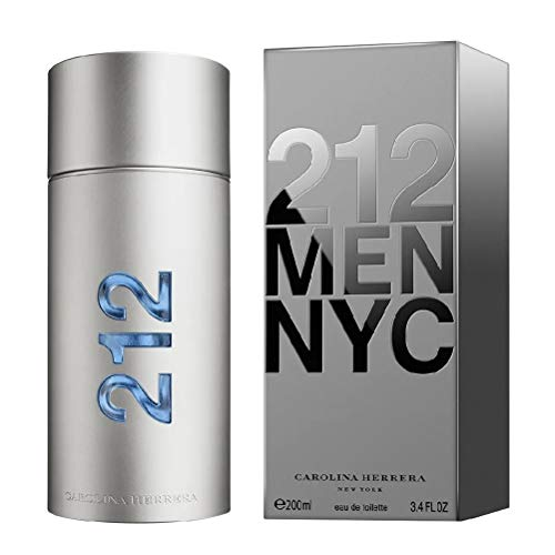 Perfume Masculino Carolina Herrera 212 NYC Men Eau de Toilette 200ml