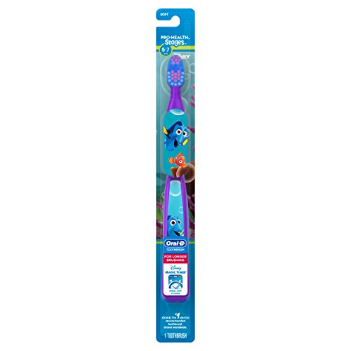 Oral-B Kid's Toothbrush featuring Disney's Frozen, Soft Bristles, for Children and Toddlers 3+, 1...