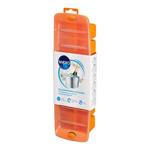 Wpro icm141 Accessoires pour réfrigérateur Ice Cube plateau Ice Cube/Extra Large/XL/couvercle/Empilable