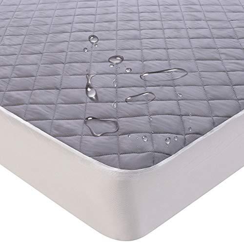 KEAFOLS Matratzenschoner 160 x 200 cm Wasserdicht Matratzenauflage Inkontinenzauflage Atmungsaktive Matratzenbezug Hygienische Matratzenschutz