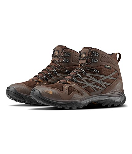 The North Face Men's Hedghog Fastpack Mid Gore-Tex - Chocolate Brown & Cargo Khaki - 10