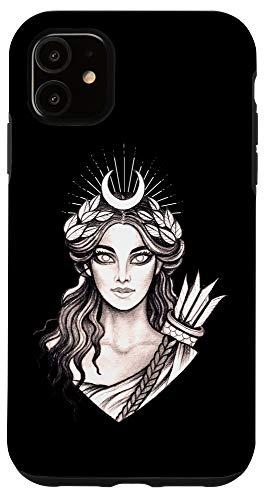 iPhone 11 Artemis Hunt Goddess - Greek Mythology Ancient Greece Hunter Case