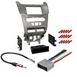 CACHÉ KIT370 Bundle with Car Stereo Installation Kit for Ford 2008 – 2011 Focus – in Dash Mounting Kit, Harness, and Antenna for Single Double Din Radio Receiver (4 Item)