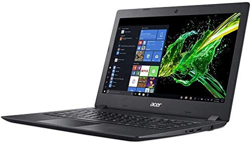 Acer Aspire 3 14-Inch Premium Laptop - AMD A9-9420e 1.8GHz up to 2.7GHz, AMD Radeon R5, 4GB DDR4 RAM, 128GB SSD, HDMI, WiFi, Bluetooth, Webcam, Windows 10 Home, Black (Renewed)
