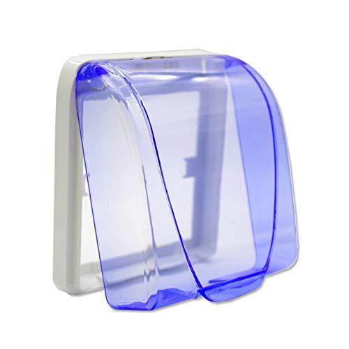 Fintass - Cubierta Protectora Impermeable para Timbre de Puerta (plástico)