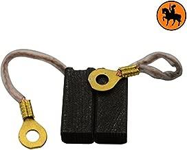 cable et connecteur 931235-00 /& N088941 Avec ressort Remplace les pi/èces dorigine 637916-03 Balais de Charbon Buildalot Specialty ca-07-02597 pour Black /& Decker Ponceuse KR753-6,3x6,3x11,5mm