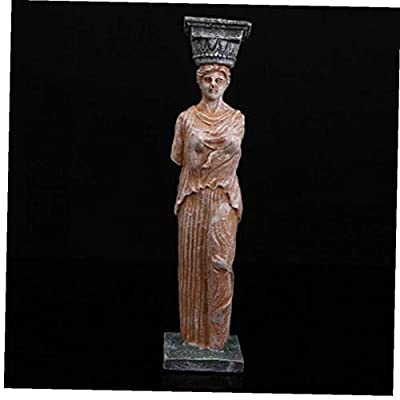 Resin Greek Goddess Statue Art Craft Carving Home Aquarium Decor Figurines Sculpture from Aisoway