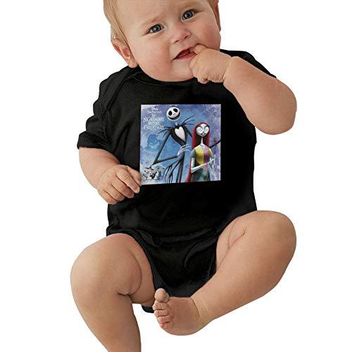 Inaayayi Enterizo de bebé La Pesadilla Antes de Navidad Body de bebé para niños y niñas de bebés
