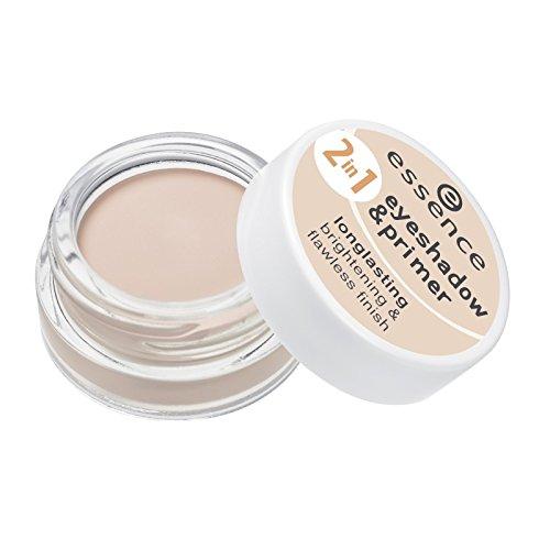 essence - Lidschatten - 2in1 eyeshadow & primer - 01 nude beige