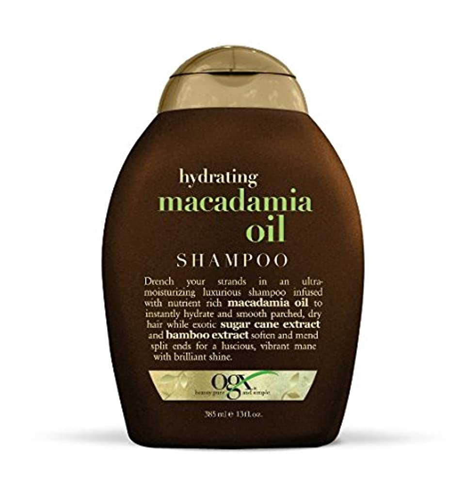 ジュース面偏見OGX Sulfate Free Hydrating Macadamia Oil Shampoo 360ml ハイドレイティングマカダミアオイルシャンプー [並行輸入品]