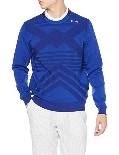 [スリクソン] 【21年春夏モデル】 セーター RGMRJL01 メンズ BL00(ブルー) M