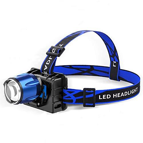 YANGMAN-L Kopflampe UV Lila LED-Scheinwerfer, UV-Taschenlampe 395Nm UV Regenschutz Scheinwerfer Camping Jagd Kopflampe Licht-Lampe