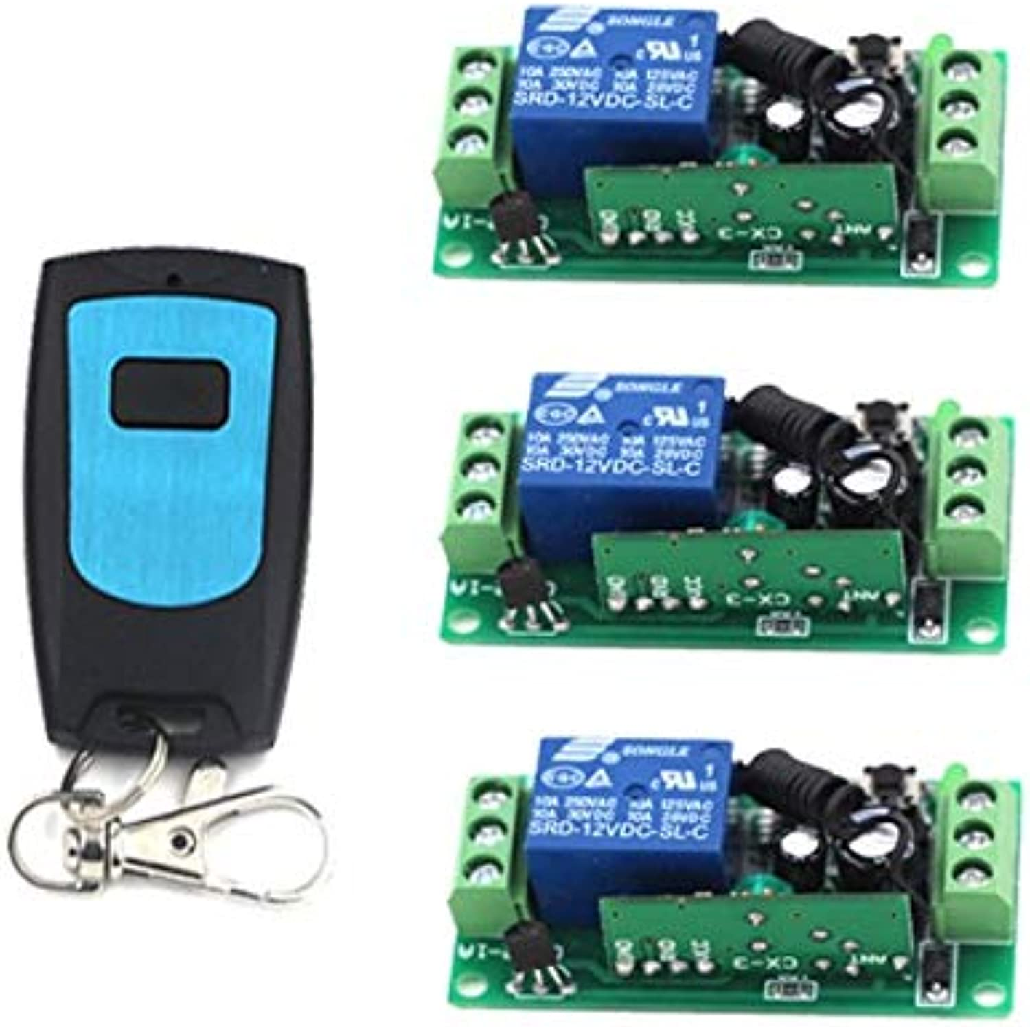 RF Remote Switch Wireless Remote Control ON Off DC12V 10A Relay Remote Controllers for Light Switch SKU  5191