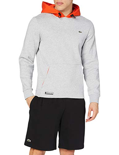 Lacoste Sport Sh1519 Maglione, Argent Chine/GLAIEUL, 5 Uomo