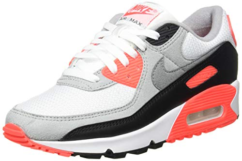 Nike Air MAX III, Zapatillas Deportivas Hombre, White Black Cool Grey Radiant Red, 38.5 EU
